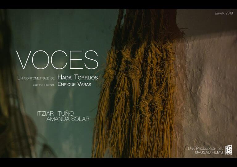 """""""Voces"""" Un cortometraje de Hada Torrijos"""