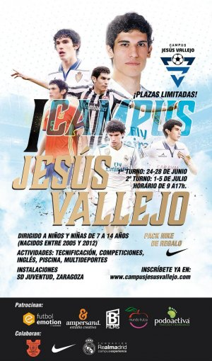 Cartel Campus Jesús Vallejo